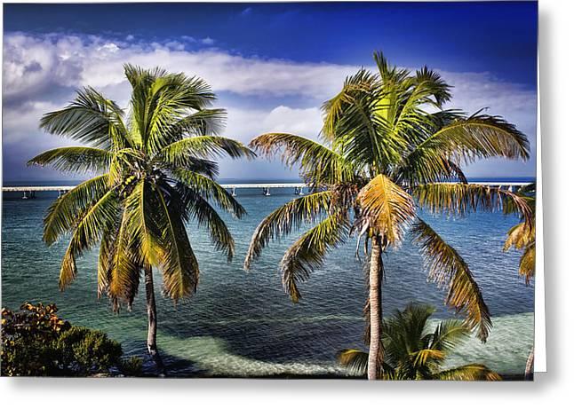 Bahia Honda State Park Greeting Cards - Bahia Honda Greeting Card by Ellen Heaverlo