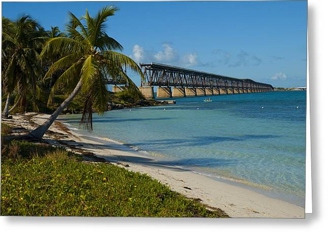 My Ocean Greeting Cards - Bahia Honda Greeting Card by Kevin Cable