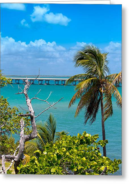 Paradise Road Greeting Cards - Bahia Honda Lookout Greeting Card by John Bailey