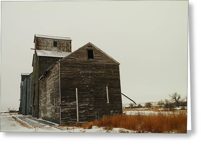 BAINVILLE MONTANA Greeting Card by Jeff  Swan