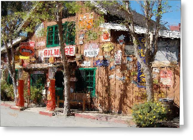 Big Sur Beach Greeting Cards - Baja Cantina - Carmel Valley CA Greeting Card by Jim Pavelle