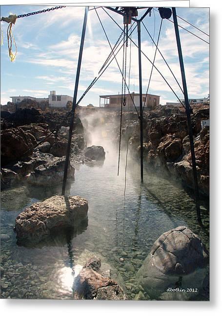 Saint-lo Greeting Cards - Baja Hot Springs Greeting Card by Dick Botkin