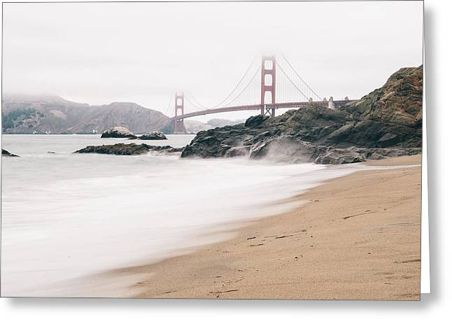 Beach Photographs Greeting Cards - Baker Beach Greeting Card by Nastasia Cook