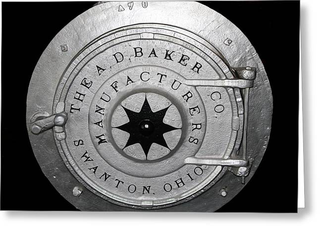 Manufacturing Greeting Cards - Baker Manufacturing Co Greeting Card by Dan Sproul