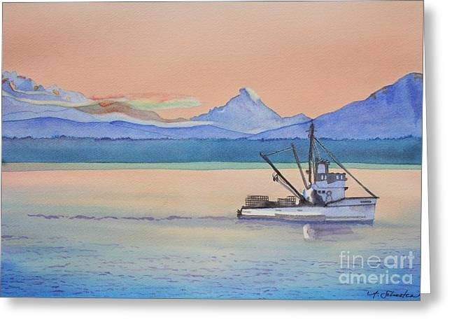 Kingston Greeting Cards - Baker Sunrise Greeting Card by Amanda Schuster