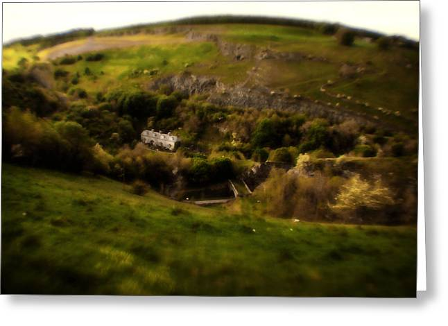 Bakewell Hills Greeting Card by Doc Braham