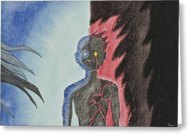 Depression Pastels Greeting Cards - Balance 2 Greeting Card by Sean Mitchell