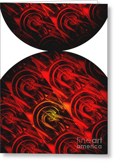 Bold Contrast Greeting Cards - Balance Greeting Card by Ann Powell