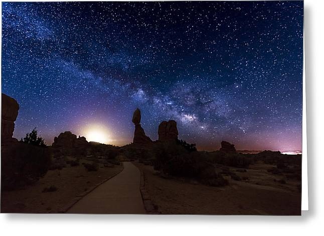Recently Sold -  - Southern Utah Greeting Cards - Balance Greeting Card by Dustin  LeFevre
