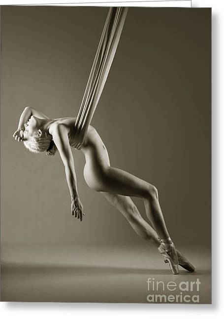 Ballet Shoes Greeting Cards - Balance in ballet shoes Greeting Card by John Tisbury