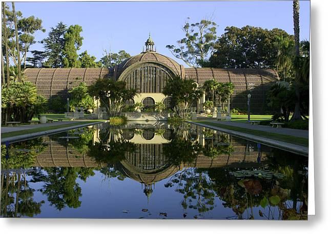Balboa Park Botanical Building - San Diego California Greeting Card by Ram Vasudev