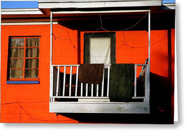 Jacksonville Greeting Cards - Balcony Near Eighth Street Greeting Card by Ross Lewis