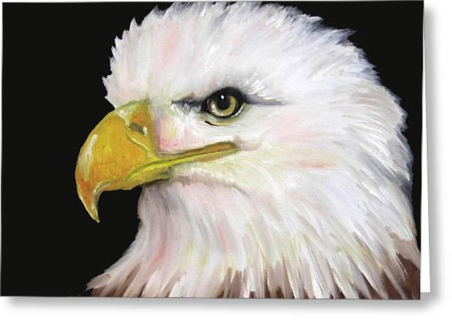 Jennifer Page Greeting Cards - Bald eagle  Greeting Card by Jennifer Page
