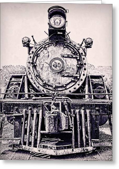 Colorado Railroad Museum Greeting Cards - Baldwin Narrow Gauge Power Greeting Card by Ken Smith