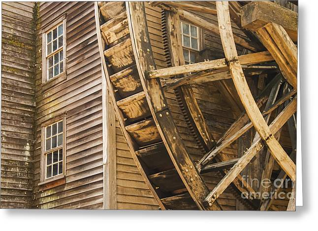 Bale Grist Mill Greeting Cards - Bale Grist Mill Greeting Card by Bob Phillips