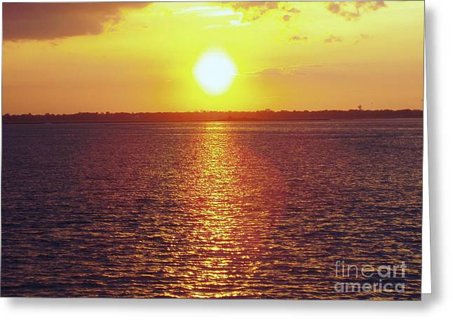 Print Photographs Greeting Cards - Ball Of Fire Greeting Card by John Telfer