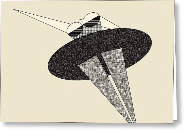 Tutu Digital Art Greeting Cards - Ballet Dancer Greeting Card by Igor Kislev