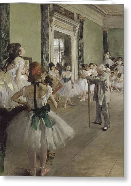 Old Masters Greeting Cards - Ballet School Greeting Card by Nomad Art And  Design