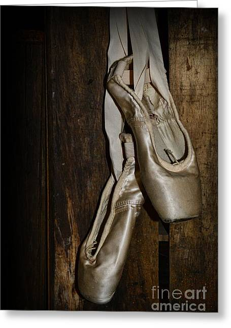 En Pointe Greeting Cards - Ballet Shoes Greeting Card by Paul Ward