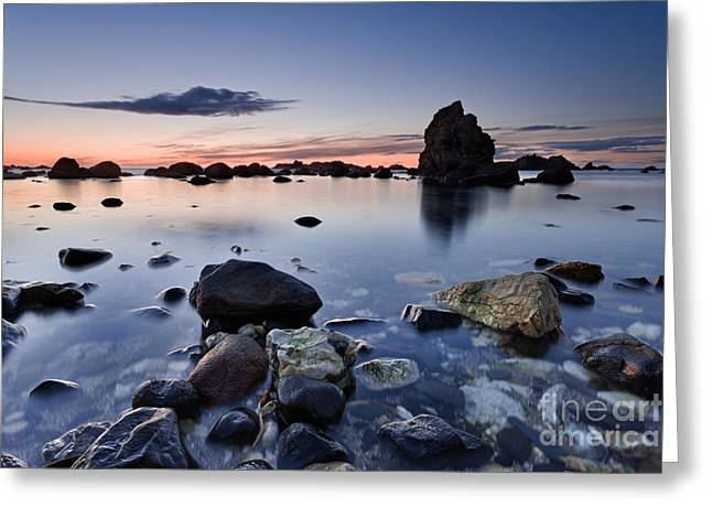 Ballintoy Greeting Card by Rod McLean