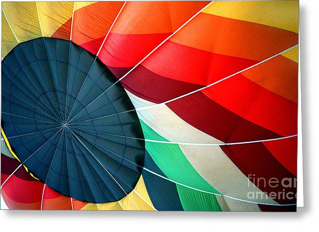 Transparency Geometric Greeting Cards - Balloon 10 Greeting Card by Rich Killion