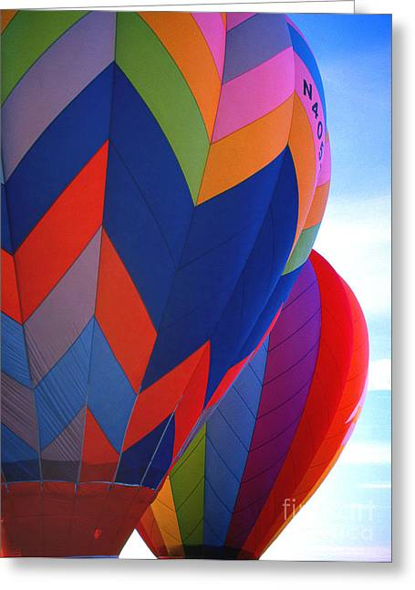 Transparency Geometric Greeting Cards - Balloon 11 Greeting Card by Rich Killion
