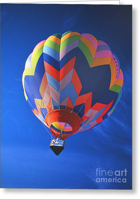 Transparency Geometric Greeting Cards - Balloon 12 Greeting Card by Rich Killion