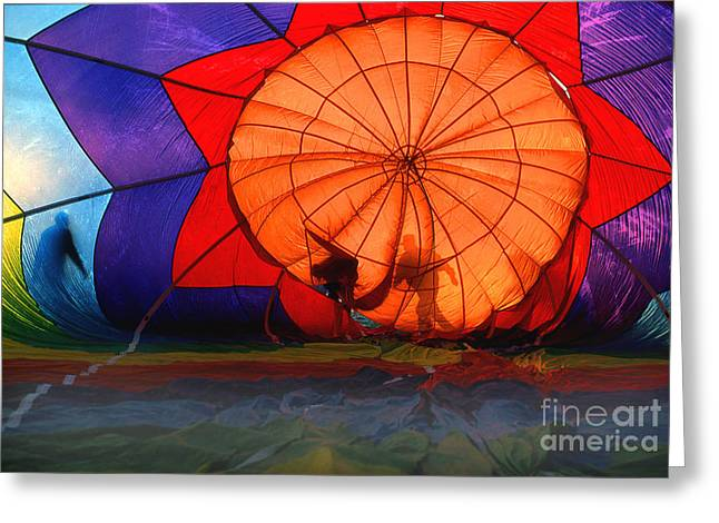 Transparency Geometric Greeting Cards - Balloon 14 Greeting Card by Rich Killion