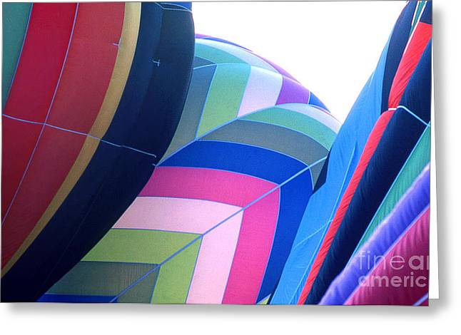Transparency Geometric Greeting Cards - Balloon 15 Greeting Card by Rich Killion