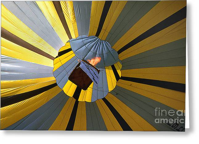 Transparency Geometric Greeting Cards - Balloon 16 Greeting Card by Rich Killion