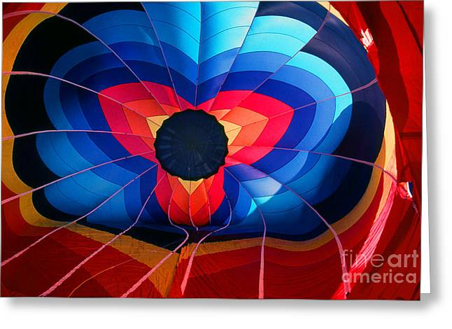 Transparency Geometric Greeting Cards - Balloon 17 Greeting Card by Rich Killion
