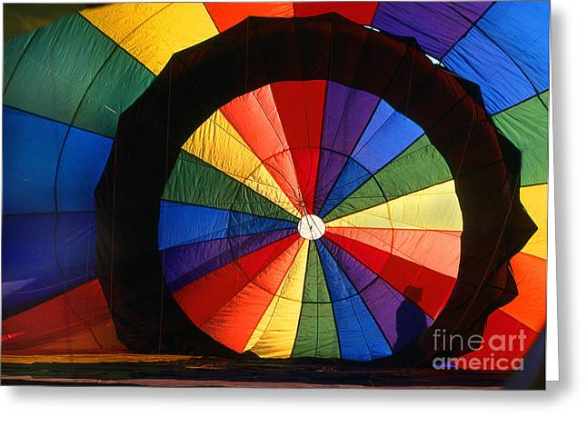 Transparency Geometric Greeting Cards - Balloon 2 Greeting Card by Rich Killion