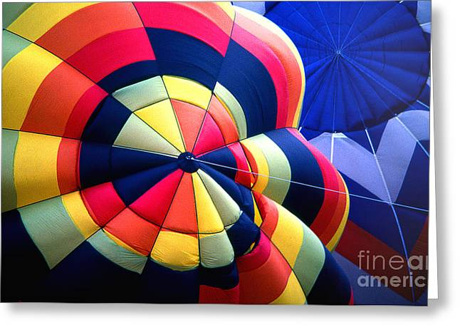 Transparency Geometric Greeting Cards - Balloon 20 Greeting Card by Rich Killion