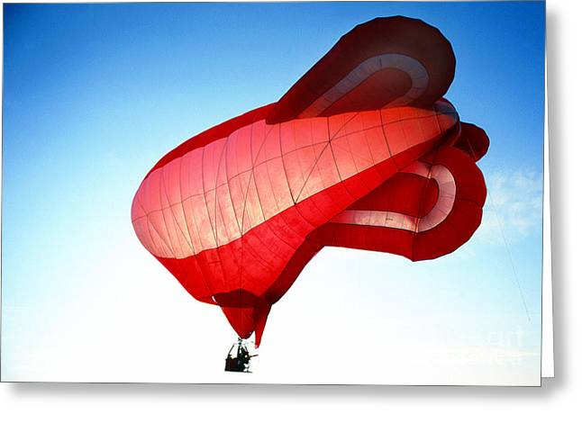 Transparency Geometric Greeting Cards - Balloon 21 Greeting Card by Rich Killion