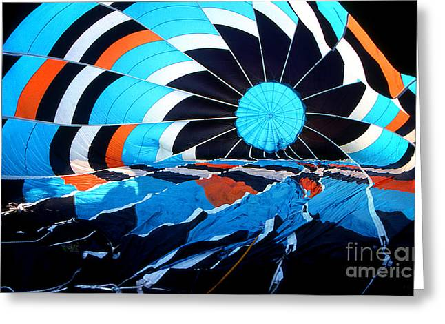 Transparency Geometric Greeting Cards - Balloon 23 Greeting Card by Rich Killion