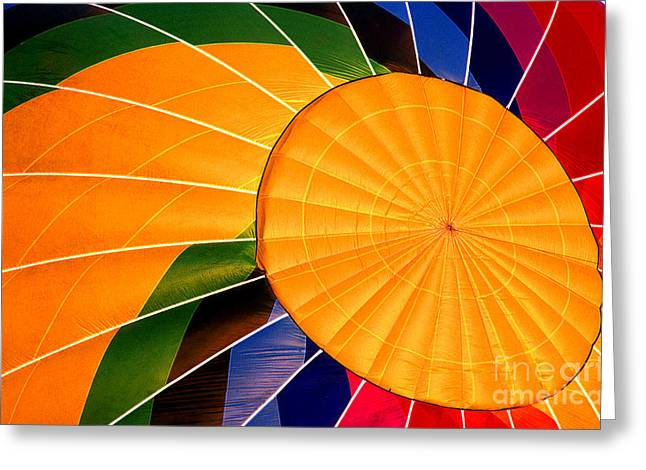Transparency Geometric Greeting Cards - Balloon 24 Greeting Card by Rich Killion