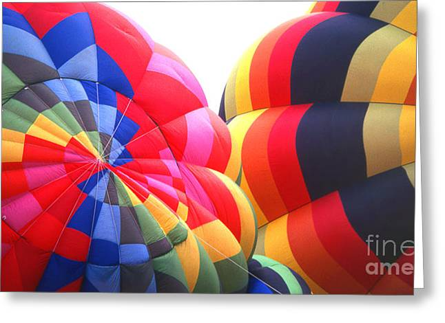 Transparency Geometric Greeting Cards - Balloon 27 Greeting Card by Rich Killion