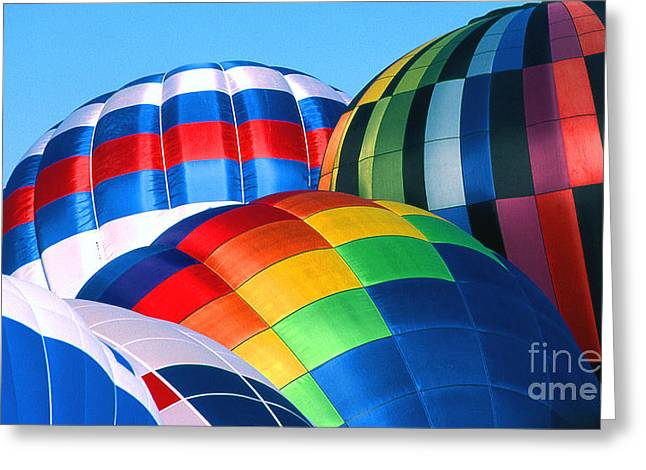 Transparency Geometric Greeting Cards - Balloon 30 Greeting Card by Rich Killion