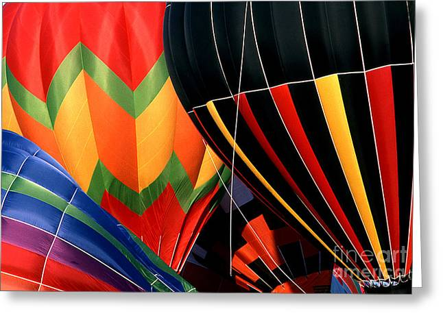 Transparency Geometric Greeting Cards - Balloon 4 Greeting Card by Rich Killion