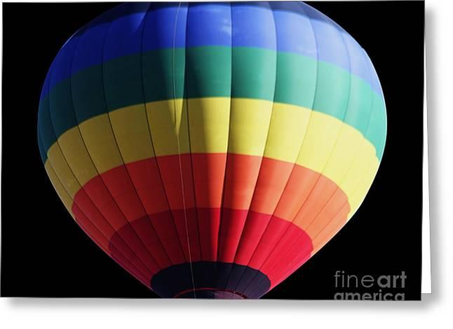 Hot Air Balloon Ride Greeting Cards - Balloon Greeting Card by Cheryl Young
