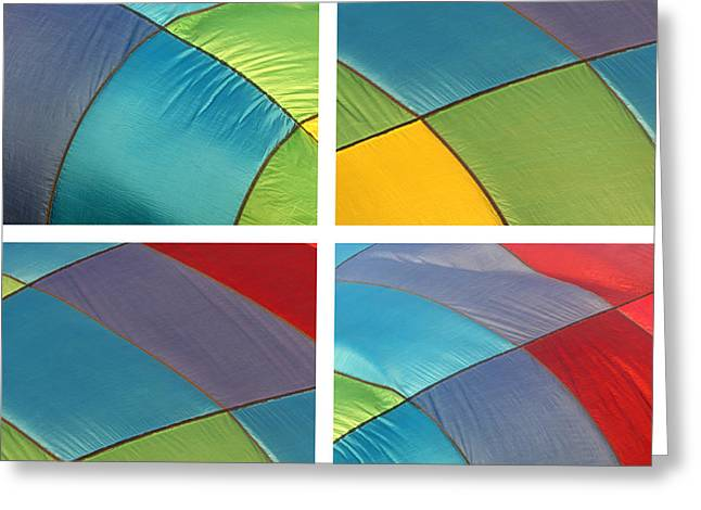Inflation Greeting Cards - Balloon Color Greeting Card by Art Block Collections