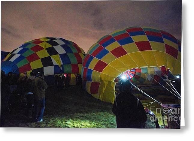 Balloon Fiesta Greeting Cards - Balloon Fiesta 2 Greeting Card by Matt Suess