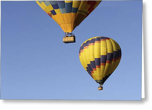 Balloon Fiesta 2012 Greeting Card by Mike McGlothlen