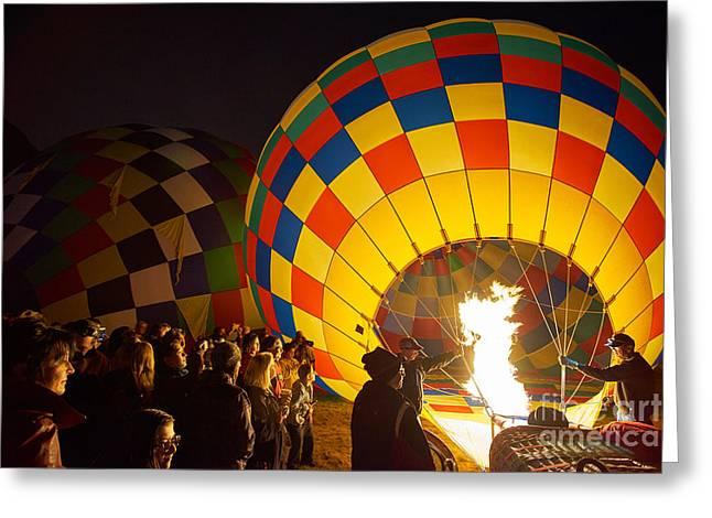 Balloon Fiesta Greeting Cards - Balloon Fiesta 3 Greeting Card by Matt Suess