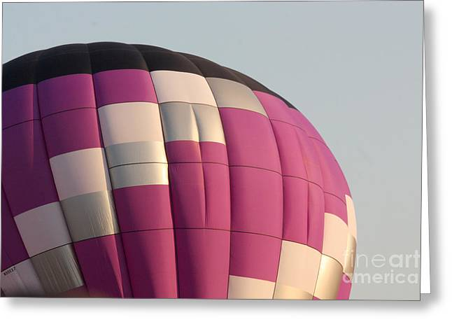 Balloon-purple-7457 Greeting Card by Gary Gingrich Galleries
