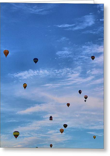 American Tradition Greeting Cards - Balloons Galore Greeting Card by Dan Sproul