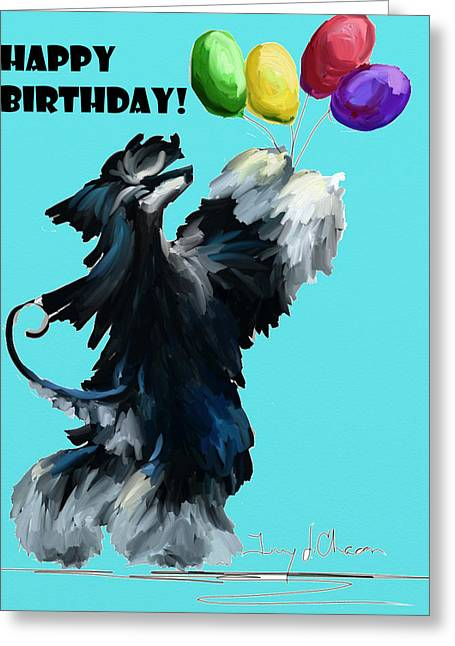 Terry Chacon Greeting Cards - Balloons Greeting Card by Terry  Chacon