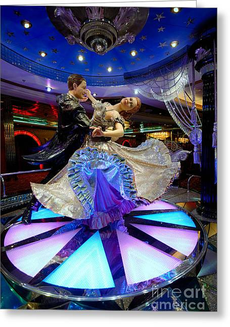 Adventure Of The Seas Greeting Cards - Ballroom Dancing Statue Greeting Card by Amy Cicconi