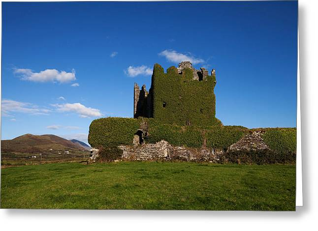 Ballycarberry Castle, Built Circa 16th Greeting Card by Panoramic Images