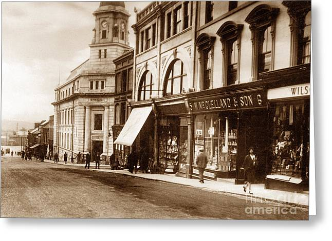Ballymena Ireland Greeting Card by The Keasbury-Gordon Photograph Archive